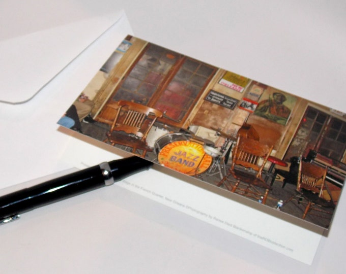 Preservation Hall Cards - New Orleans Stationery