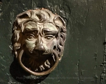 French Quarter Guardian at the Door Photograph