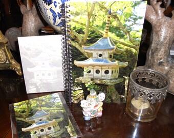 Birdhouse Stationery Set - Cards, Notepad, Notebook