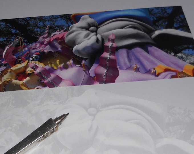 Carnival Float Flat Card - One Card with Envelope