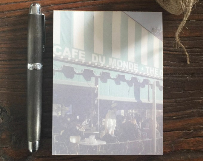 Featured listing image: FEATURED ON SALE this week - Cafe du Monde Notepad - Was 12 Now 10