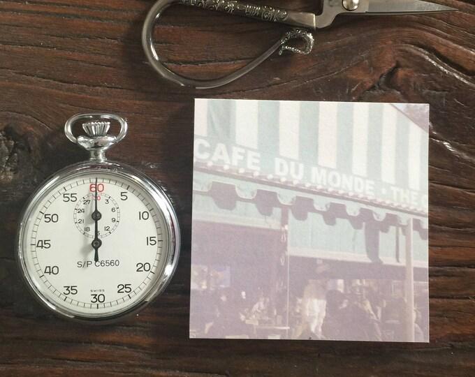 Cafe du Monde Adhesive Pad