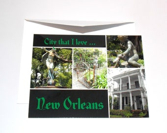 Uptown New Orleans Cards