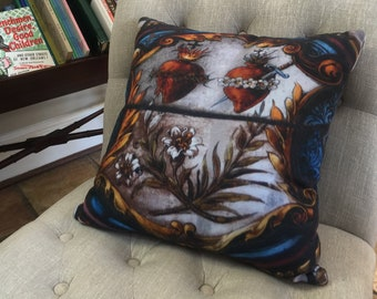 Sacred Hearts Pillow