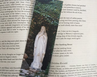 Mary in Grotto Bookmark