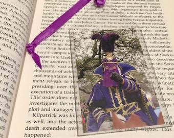 Mardi Gras Rider Bookmark