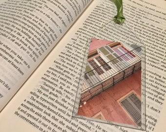 French Quarter Balcony in Pink Bookmark