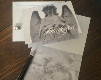 Angel Thank You Note Cards