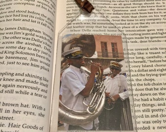 New Orleans Brass Band Bookmark
