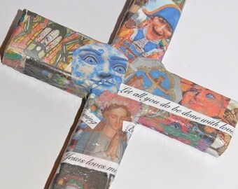 Art Wood Cross - New Orleans