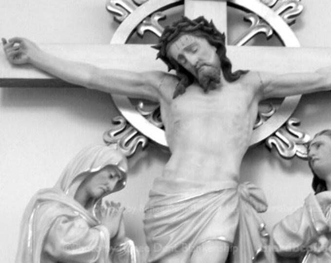 Jesus Crucified Photograph