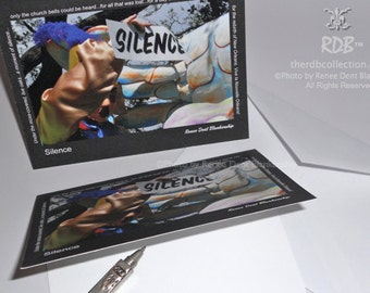 Silence Remembrance Cards - New Orleans Card - Carnival Stationery - theRDBcollection