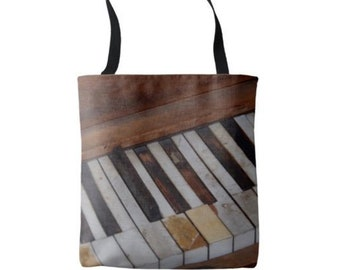 Piano Keys Tote