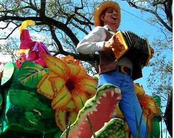Louisiana Life Bayou Folk Photograph - Mardi Gras