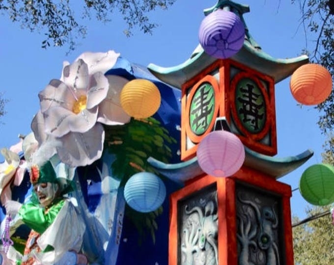 Japanese Carnival Float Photograph