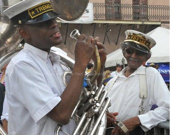 Lionel Batiste Photograph - Treme Brass Band - New Orleans