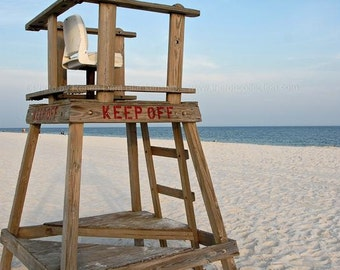 Lifeguard Stand Photograph