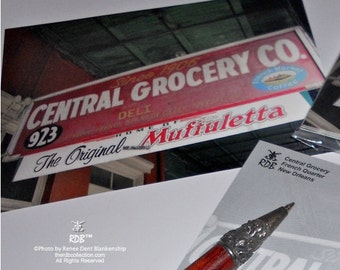 Central Grocery Postcards - New Orleans Stationery