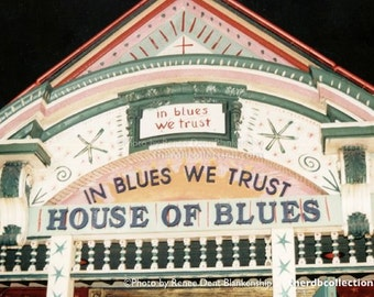House of Blues Photo - French Quarter Music - New Orleans - theRDBcollection - Renee Dent Blankenship