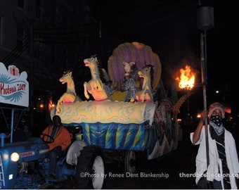 Mardi Gras Float Photograph - New Orleans