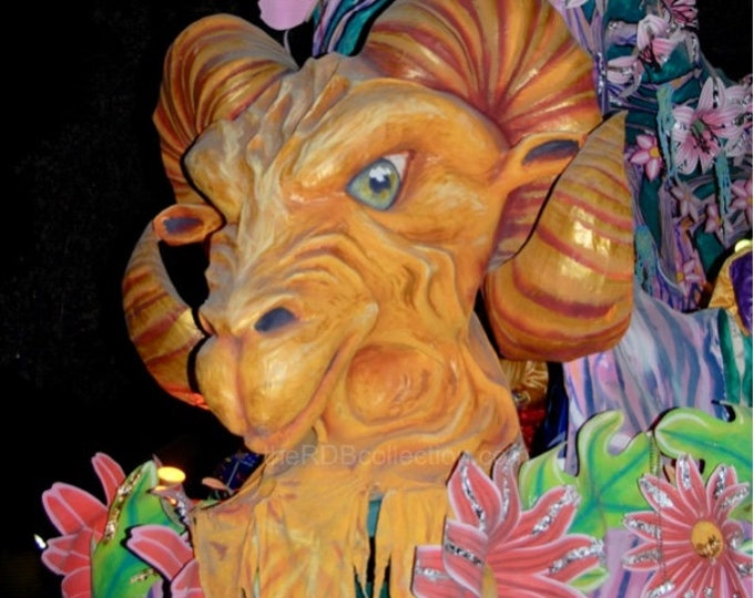Aries the Ram Float Photograph - Mardi Gras
