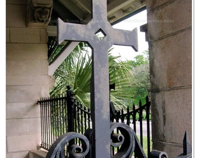Monastery Cross Photograph