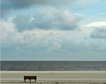 Contemplation - Gulf Coast Beach Photograph