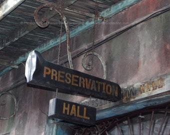 Preservation Hall Photograph