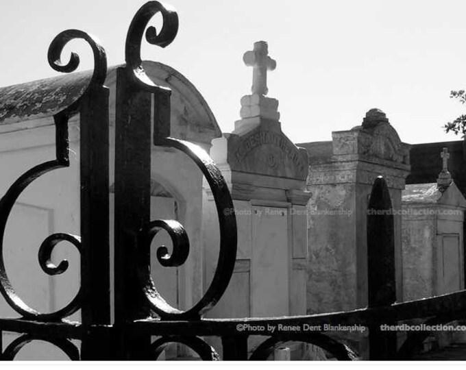 Through the Gate • Lafayette Cemetery