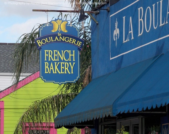 French Bakery Photograph