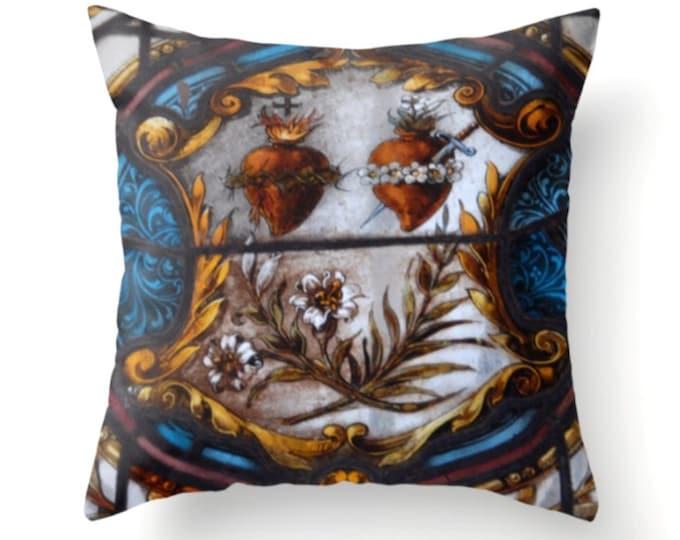 Sacred Hearts Pillow
