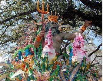 Neptune Carnival Float Photograph