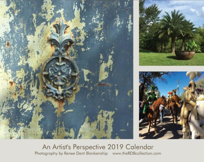2019 New Orleans Calendar and Postcards - LIMITED EDITION