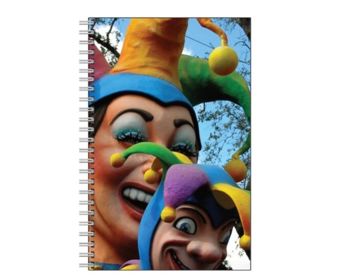Jester Notebook - New Orleans Mardi Gras