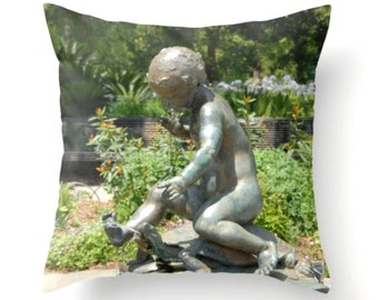 Child at Play Pillow