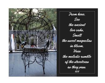 Victorian Chair Postcards