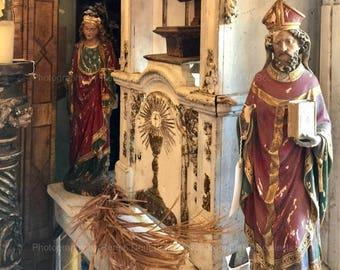 Saints and Sacrament Photograph
