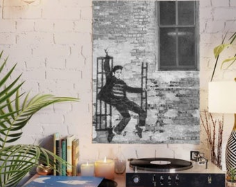 Elvis Graffiti Photograph