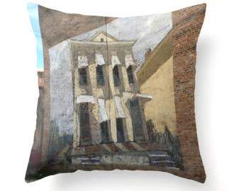 Shotgun House Pillow