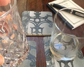 New Orleans Ironwork Paper Coasters