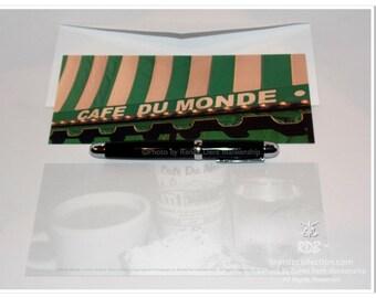 Cafe du Monde Long Note Cards