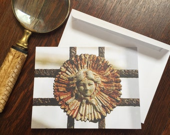 Rosette Notecards - New Orleans Stationery - Cemetery Art - theRDBcollection