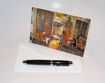 Preservation Hall Folded Note Cards - New Orleans