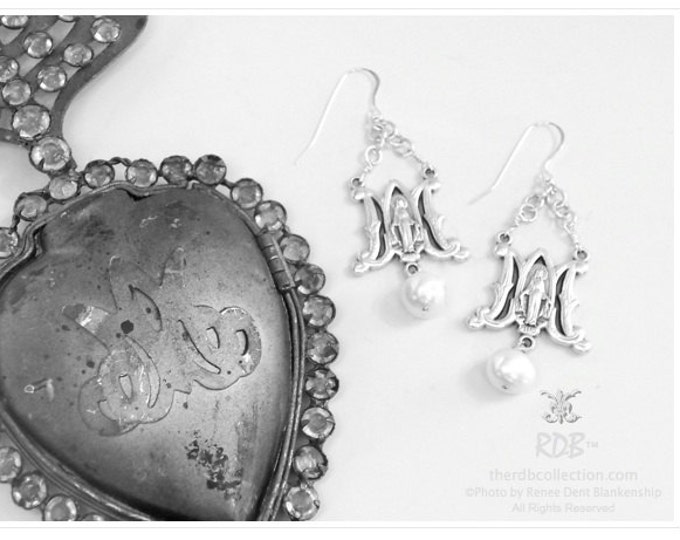 Ave Maria Earrings - Southern Inspired - Limited Edition Jewelry