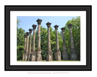 Windsor Ruins Landscape Photograph