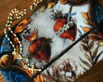 Sacred Heart Clutch Bag