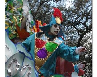 Carnival Masker Photo - Mardi Gras