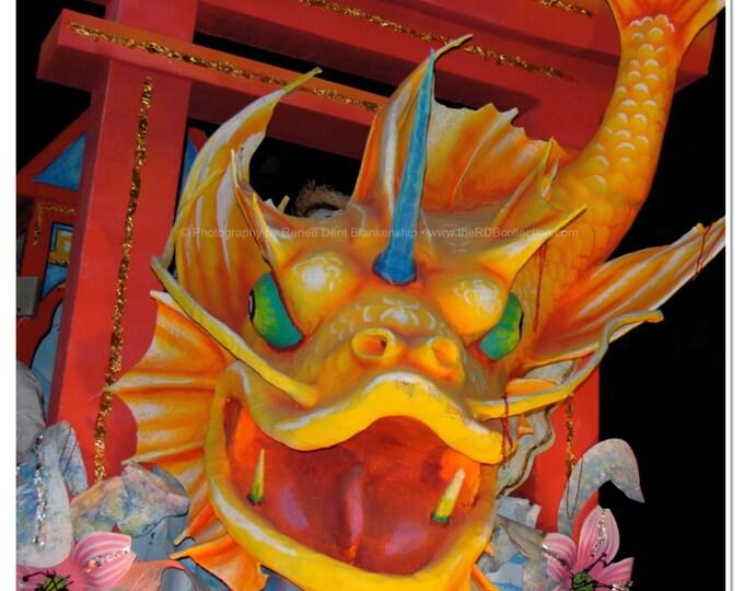 Koi Fish Photograph - Mardi Gras Float Art