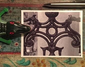 New Orleans Ironwork Postcards