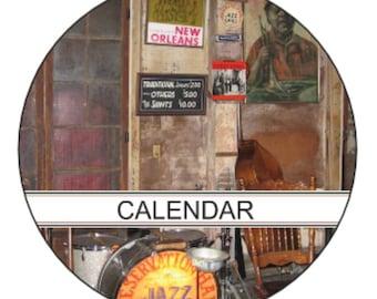 2020 New Orleans Desk Calendar